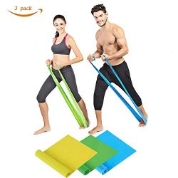 Ralyss 7 ft. Long Exercise Band, Long Resistance Bands Sport Yoga Elastic Bands Elastic Exercise ...