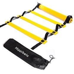 Hippibela Agility Ladder – Durable Training Ladders for Soccer, Speed, Football with Carry ...