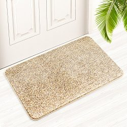 Derhom Indoor Doormat 18″ x 29,5, Super Absorbs Mud Non Slip Dirt Trapper Door Mat – ...