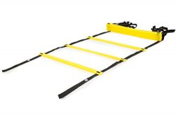ProSource Speed Agility Ladder 12 rung for Speed Training & Sports Agility Workouts with Fre ...