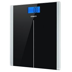 Etekcity Digital Body Weight Bathroom Scale with Step-On Technology, 400 Pounds, Body Tape Measu ...