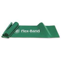 STOTT PILATES Flex-Band Exerciser, Regular Strength (Green), 6 foot 5 inch / 198 cm