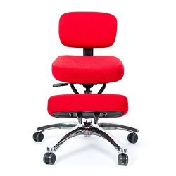 BetterPosture Jazzy Kneeling Chair – Multifunctional Ergonomic Posture Kneeling Chair Helps Redu ...
