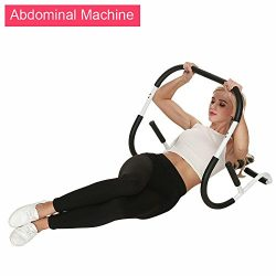 evokem Ab Roller Evolution Abdominal Machine, Portable Crunch Trainer Workout Home Gym Equipment ...