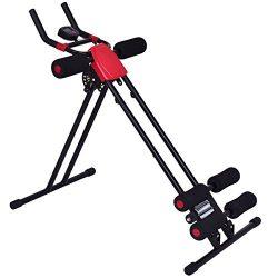 Goplus Ab Trainer Abdominal Trainer Ab Vertical 5 Minute Shaper Waist Trainer Core Toner Ab Crun ...