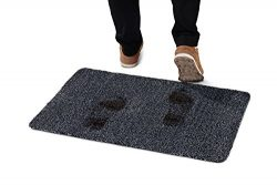 Indoor Doormat for Front Door Entryway Mud and Water Absorbent  Non Slip No Odor Rug Dirt Mat Tr ...