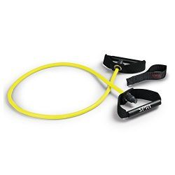SPRI Xertube Resistance Band w/ Door Attachment, Yellow, Very Light