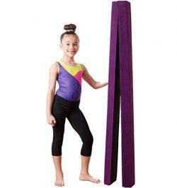 Foam Folding Gymnastics Balance Beam: Low Profile, Soft, Padded Floor Gymnastics Equipment | Sue ...