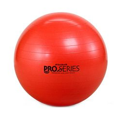 TheraBand Exercise and Stability Ball – Pro Series 55 cm (Red)