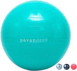 Exercise Stability Ball By Pavandeep 2000lbs Anti Burst Balance Balls for Fitness Pilates Yoga G ...