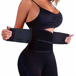 Chongerfei  Waist Trainer Belt for Women – Waist Cincher Trimmer – Slimming Body Sha ...