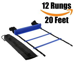 Agility Ladder, Speed Training Equipment For High Intensity Footwork Quick Ladder Multi-Sport Tr ...