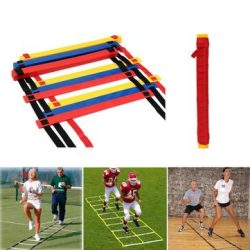 Speed Agility Ladder – Soccer Agility Ladder – 12 Rung Speed Ladder Soccer Sport Lad ...