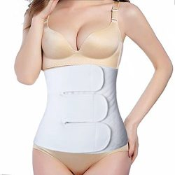 Paz Wean C Section Recovery Belly Band Postpartum Recovery Body Shaper Post Csection Belly Binde ...