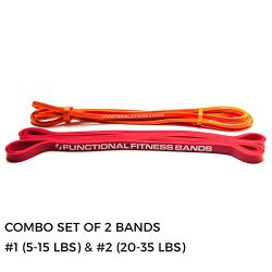 Functional Fitness Exercise Resistance Training Band, 10 Different Tension Band Sets, 5-200 lbs. ...