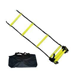BlueDot Trading Speed Agility Training Sports Equipment Ladder, 30-Feet