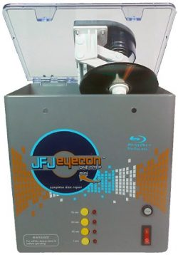 JFJ One-Step Eyecon Mini Video Game, CD, DVD, Blu-Ray Repair Machine with JFJ Easy Pro Video Gam ...