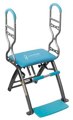 Pilates PRO Chair Max with Sculpting Handles by Life's A Beach (Blue)