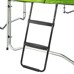 Pure Fun Trampoline Accessory: Dura-Bounce Trampoline Ladder with 2 Platform Steps