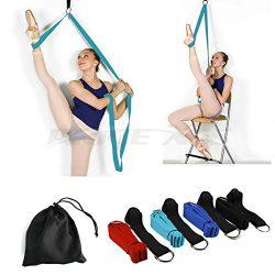 Leg Stretcher, Door Flexibility & Stretching Leg Strap – Great for Ballet Cheer Dance  ...