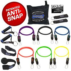 Bodylastics Stackable (14 Pcs) MAX XT Resistance Bands Sets. This Leading Exercise Band System I ...
