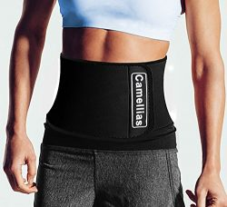 Camellias Waist Trimmer – Adjustable Ab Belt for Men & Women to shed the excess Water, ...