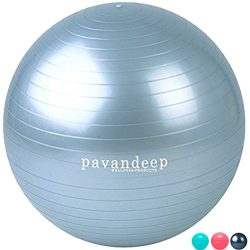 Exercise Stability Ball By Pavandeep 2000lbs Anti Burst Balance Balls for Fitness Pilates Yoga G ...