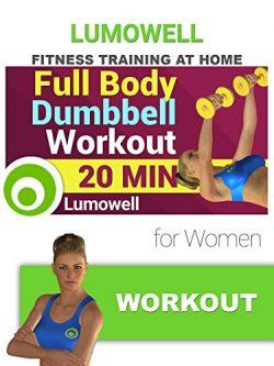 Full Body Dumbbell Workout for Women