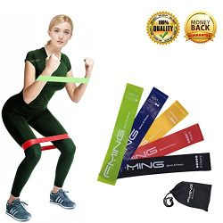 Resistance Loop Exercise Bands, Fitness Bands for Women Men, Workout Bands for Training, Yoga, P ...