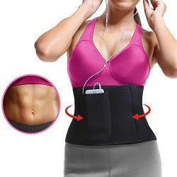 ROSERAIN Waist Trimmer Belt, Waist Trainer For Weight Loss,Waist Cincher Shaper Slimmer For Wome ...