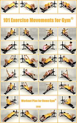 101 Exercise Movements for Home Gym®: Workout Plan for Home Gym
