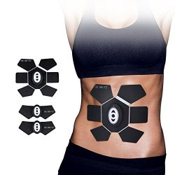 Landnics Abdominal Toning Belt, Muscle Toner EMS Abs Trainer Wireless Body Gym Workout Home Offi ...