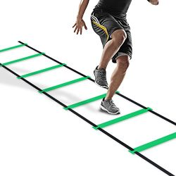 Pulchra Agility Speed Ladder Athletic Football Soccer Basketball Footwork Fitness Exercise Worko ...
