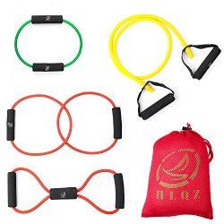 Leesion Resistance band resistance tube rehabilitation band sports belt Pilates fitness equipmen ...