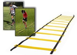 Teenitor 12 rung Agility Ladder Speed ladder Training ladder for Soccer, Speed, Football Fitness ...