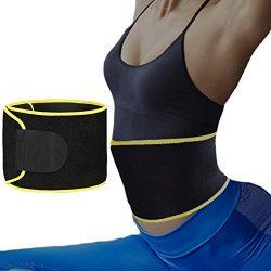 Pro-traveller Sweat Waist Trimmer, Neoprene Waist Trainer Belt for Women Weight Loss and Slim Wa ...