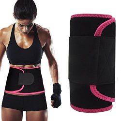 Singular point Waist Trimmer,Best Abdominal Trainer Fast Weight Loss Wrap Adjustable Sweat Belt  ...