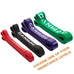 CANWAY Pull Up Assistance Bands, Heavy Duty Resistance Exercise Band – Mobility Band &#821 ...