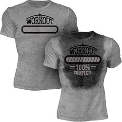 Sweat Activated Men's Gym Shirt | Workout Complete | Workout Fitness T-Shirt