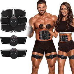ABS Stimulator Muscle Toner Ab Toner Belt Workout Equipment for Abdomen Leg Arm Abdominal Traine ...