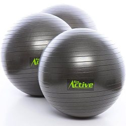 GO Active Lifestyles Exercise Ball – Stability Ball – Fitness Ball – Large Wor ...