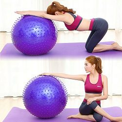 ROUTESUN Yoga Ball, Exercise Ball, Anti-Burst Heavy Duty Pilates Ball Chair, Birthing Ball, Bala ...