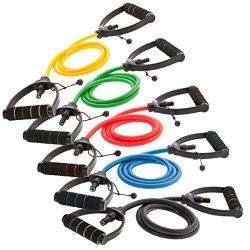 DYNAPRO Exercise Resistance Bands – Adjustable, Comfort Handles, Professional Quality – Wo ...