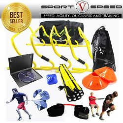 NEW TEAM SPEED AGILITY & QUICKNESS Training Kit with Instructional DVD | High School & C ...