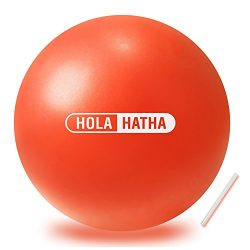 Mini Exercise Ball for yoga, pilates, barre, fitness-Stability ball accessories for strengthenin ...