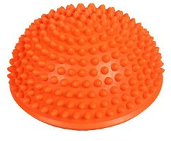 Heyuni.1pc Yoga Half Ball Fitness Equipment Kids Elder Durian Massage Mat Exercise Balance Point ...