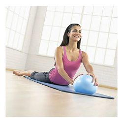 Comkit Mini Yoga Pilates Ball 10 Inch for Stability Exercise Training Gym Anti Burst and Slip Re ...