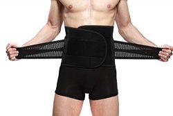 Goege New Style Adjustable Breathable Trimmer Belt,Tummy Fat Burning Slimming Belt,Body Shaper S ...