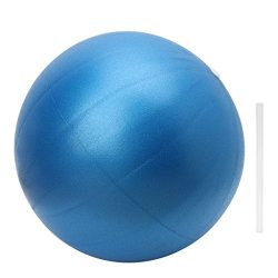 ULKEME 25CM Exercise Balls Gymnastic Balance Yoga Training Ball Fitness Pilates Sports (blue)