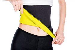 ValentinA Unisex Hot Thermo Slimming Belt, Tummy Control Slimmer, Stomach Fat Burner, Good Abdom ...